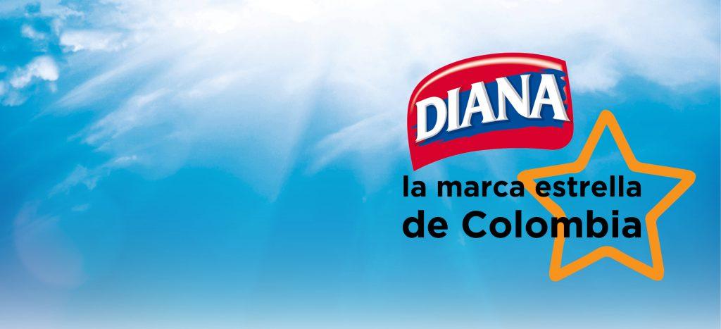 Diana la marca estrella de Colombia